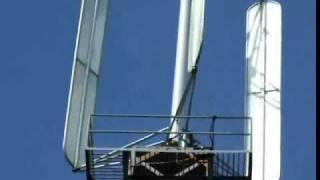 Variable Pitch Vertical axis wind turbine