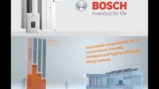 Bosch Energy Storage -- Heat Pump, Solar and Hybrid Battery Backup
