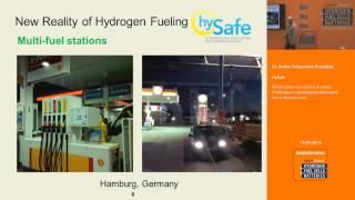 Addressing new technical safety challenges in developing alternative fuels infrastructure