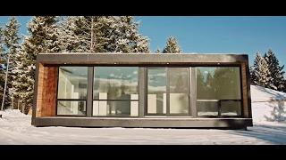 NEW- Shipping Container Home Built in the Forest