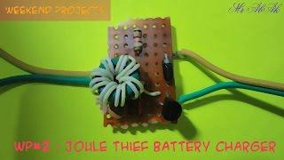 WP#2 : Joule Thief Battery Charger