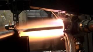 Rotating Detonation Engine (RDE) water-cooled endurance test run