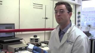 PhD student Theodore Abraham explains ionic liquid-based thermocells