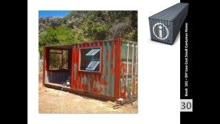 Shipping Container Homes Book 101 Container Cabin South Africa
