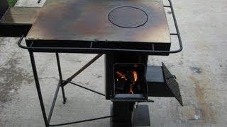 A Rugged Multi-Fuel, Multi-Use Rocket stove