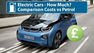 Electric Cars - How Much To Buy & Run vs Petrol
