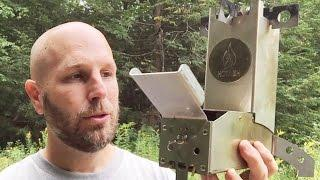 Built To Last: Hot Ash Wood Burning Rocket Stove | Camping, Survival, Bushcraft