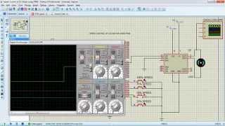 DC Motor Speed Control using PWM with Atmel 89C52 Microcontroller