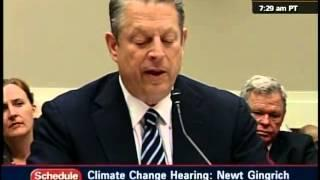 Al Gore on Ice Sheet Melting Arctic, Antarctic and Greenland