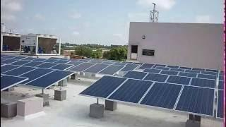50KW Grid Connected Rooftop Solar Plant installed by ReAP