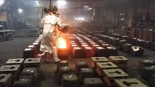 Cast Metals - Pouring MOLTEN METAL! (part 2)