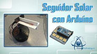 Seguidor Solar Arduino (DIY Arduino Solar tracker)