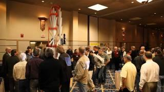 JOHN BEDINI UNVEILS 14FT. HIGH MONOPOLE MOTOR AT CONFERENCE