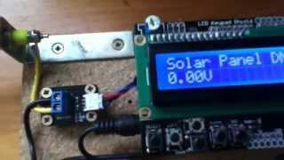 MPPT Solar Charge Controller #1 - Introduction and Voltage Measurement