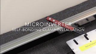 ProSolar® Microinverter Self-Bonding Clamp Installation