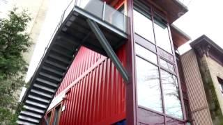 Atira Container Housing on Shaw TV