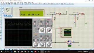 Control de velocidad de un motor DC con PWM en Pic C compiler