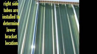 How-To Install A Solar Hot Water Heater System Instructional Video
