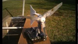 RENEWABLE ENERGY:  HYDRO KINETIC TURBINE MODEL PILOT DEPLOYMENT - (1/10TH SCALE)