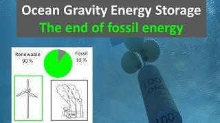 Ocean Gravity Energy Storage Can Improve Renewable Economy