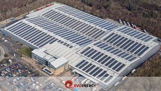 UK's 4th Largest Commercial Solar PV Rooftop Installation | Lyreco