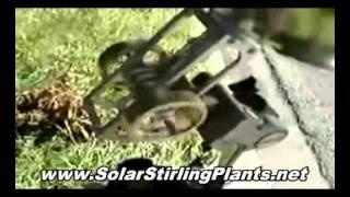 New Solar Stirling Free Electricity Generator - How To Build At Home