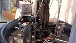 US Naval Research First Flying Platform 1955  (2X4 Cyl & counter rotating propellers)