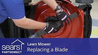 How to Replace a Lawn Mower Blade