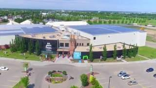 Largest commercial rooftop solar installation in Canada - Leduc Recreation Centre