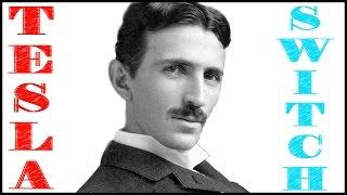 Nikola Tesla forgotten inventions Tesla switch with 3 li-ion 18650 batteries