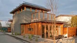 Net-zero solar laneway house by Lanefab Design/Build | Amazing Small House Design
