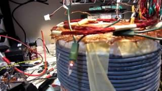 Wireless Joule Thief Using CAT5 Cable