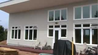 Earth Bermed - ICF - Passive Solar House Video.wmv