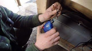 DIY Micro Hydro part 14 wiring The turbine