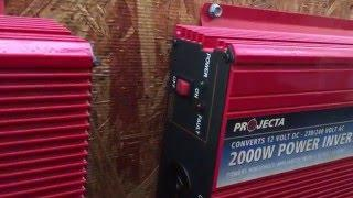Cheap & easy DIY home solar power system - cost, parts, where to buy.