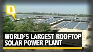 The Quint: World's Largest Rooftop Solar Power Plant Inaugurated in Amritsar