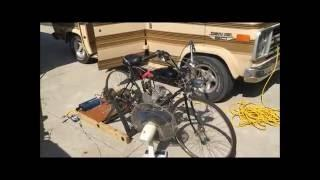 66/80cc Motorized Bike Into HOME GENERATOR - POWERING THINGS !!!!