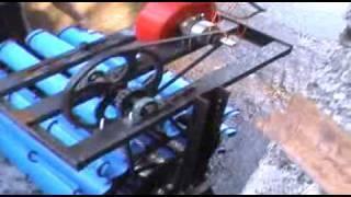Microhydro Turbine from scrap