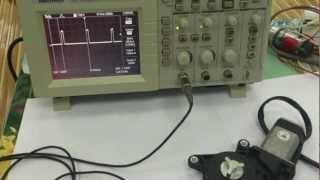 DC motor PWM speed and direction control using relays and single transistor
