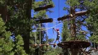 Heavenly's Discovery Forest Canopy Ropes Challenge Course