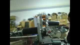hydrogen powered car 2 electrical DC motor propulsion