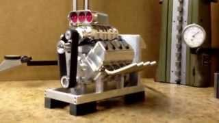 8 cyl, compressed air, engine, top fuel, funny car, drag race,blower,billet,hobby