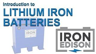 Lithium Iron (LiFePO4) solar battery introduction