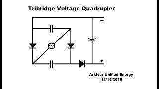 Voltage Tripler & Tribridge Quadrupler Circuit