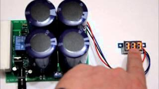 The portable super capacitor battery bank with voltage boost options! Rated for 400F 5 4v