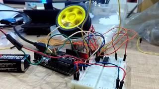 Control Motor PWM Arduino