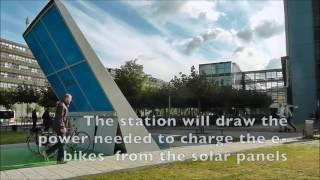 Photovoltaic E-bike charging station - TU Delft