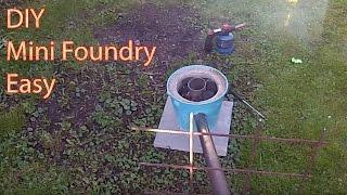 DIY Mini Foundry