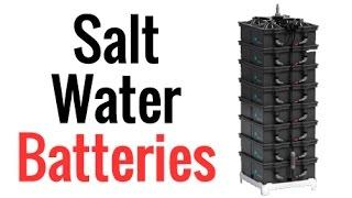 Salt Water Batteries