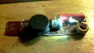 Joule Thief motor - 7 strand coil